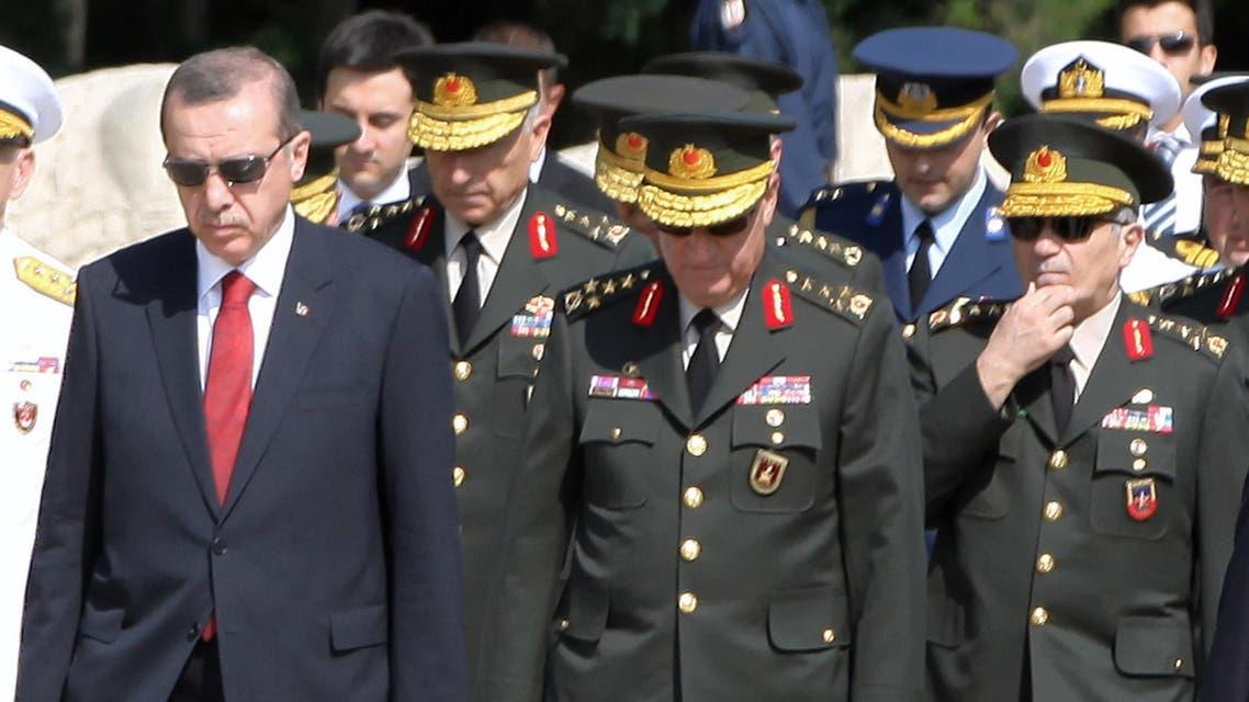 Erdogan army AP
