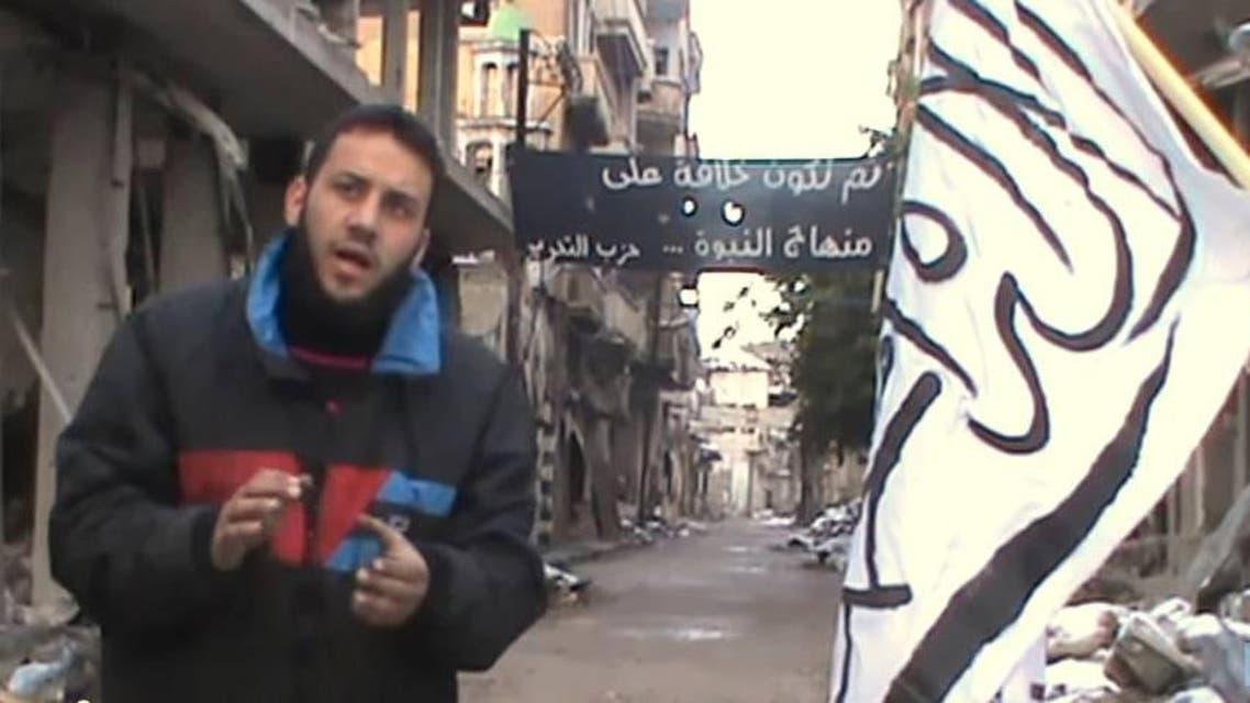 Syrian fighter Abu Bilal al-Homsi