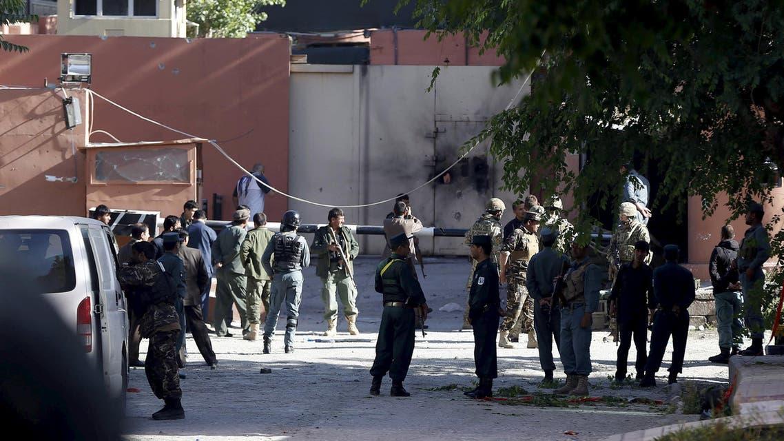 هجوم طالبان في أفغانستان