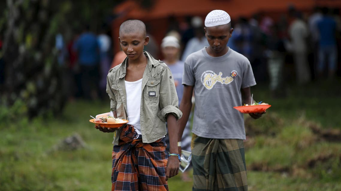 Rohingya migrants arrive in Indonesia