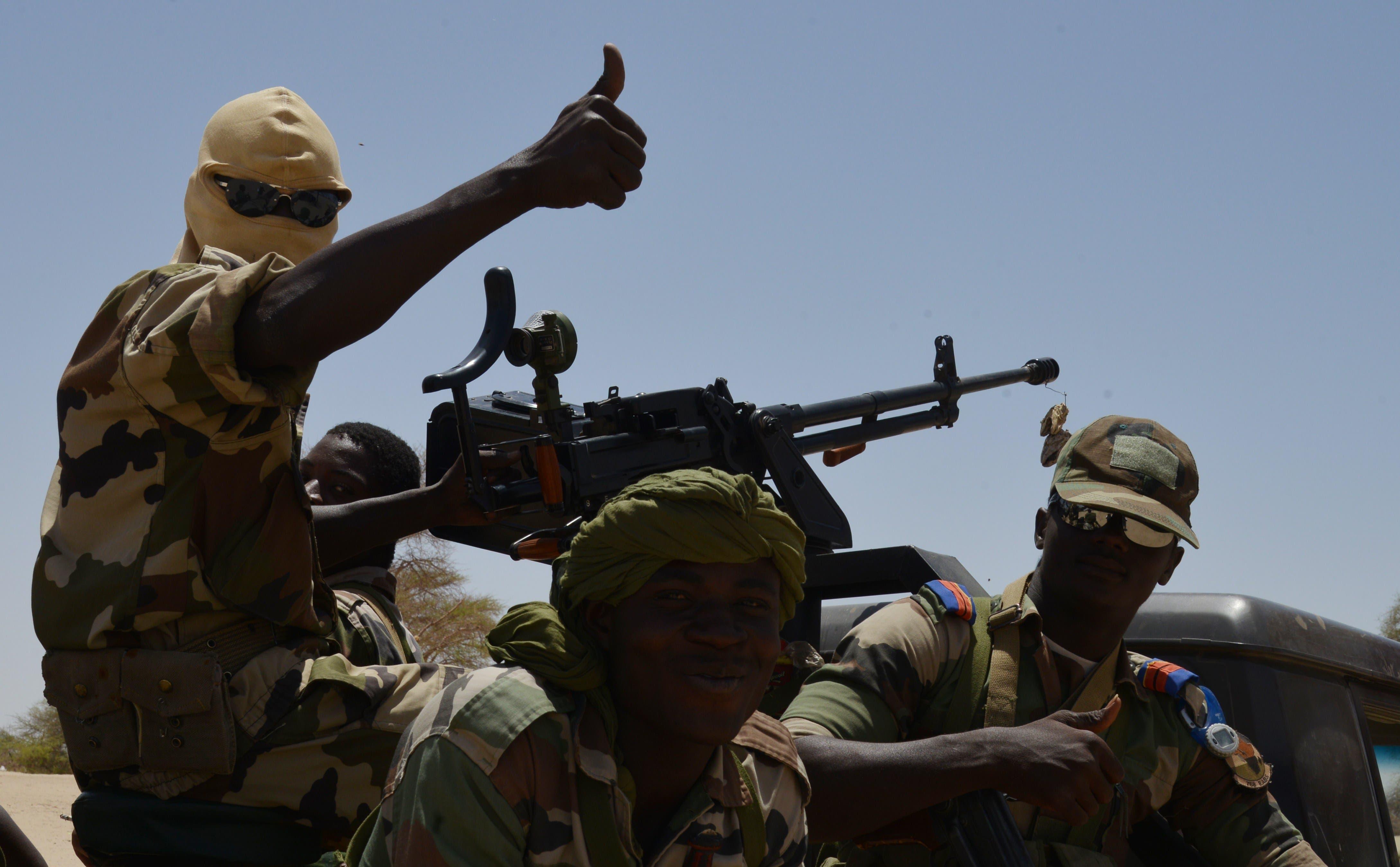 جنود من النيجر ضمن قوة برخان في الساحل الإفريقي