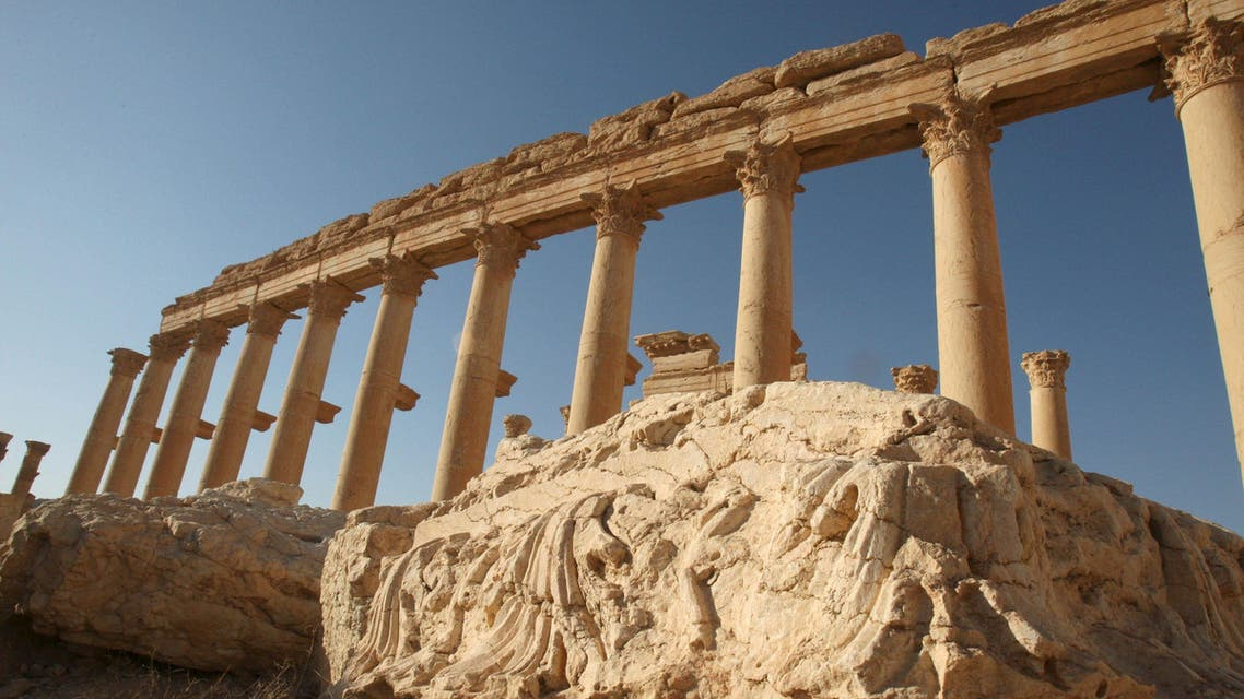 Columns are pictured in the historical city of Palmyra, May 13, 2010. (File: Reuters)