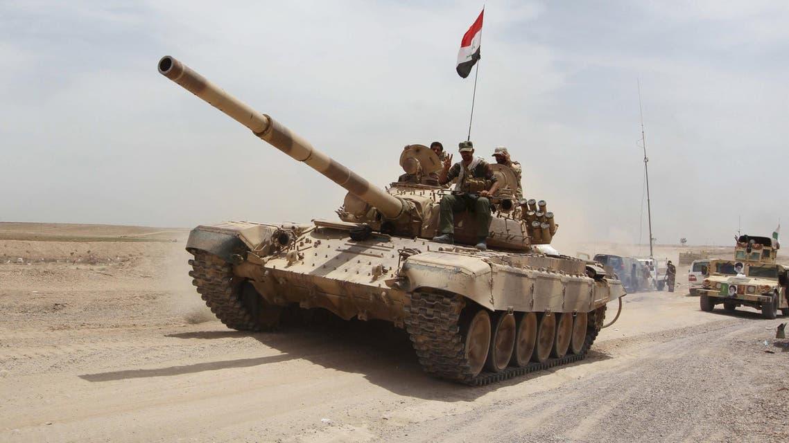 القوات العراقية - الرمادي 3