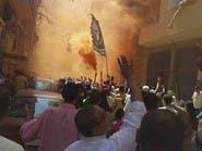 الإخوان يشعلون النيران بشركتي اتصالات خاصة في القاهرة