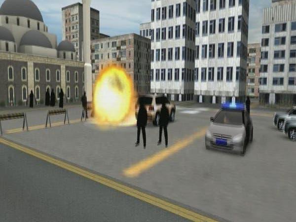 فيديو توضيحي لمحاولة تفجير مسجد العنود