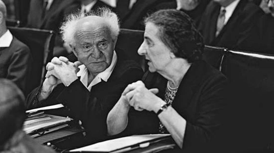 غولدا مائير دافعت عن بن غوريون الذي كذبها لاحقاً