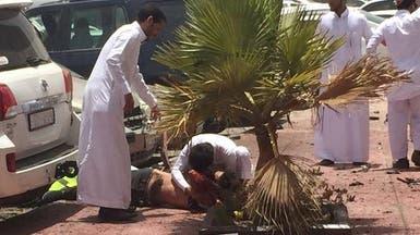 بالصور.. أضرار محاولة تفجير مسجد العنود بالدمام