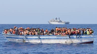 إنقاذ نحو 1400 مهاجر السبت في البحر الأبيض المتوسط
