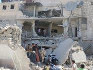 النظام السوري يقصف جبل الأكراد بالبراميل المتفجرة