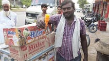 Ice cream cone named after Adolf Hitler on sale in India
