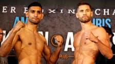 Amir Khan calls out Floyd Mayweather after beating Chris Algieri