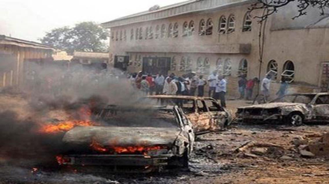 تفجير مسجد في نيجيريا - أرشيفية