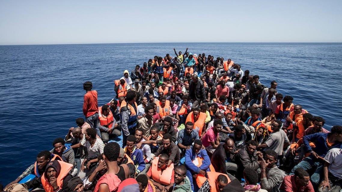 مهاجرين مهاجرون المتوسط