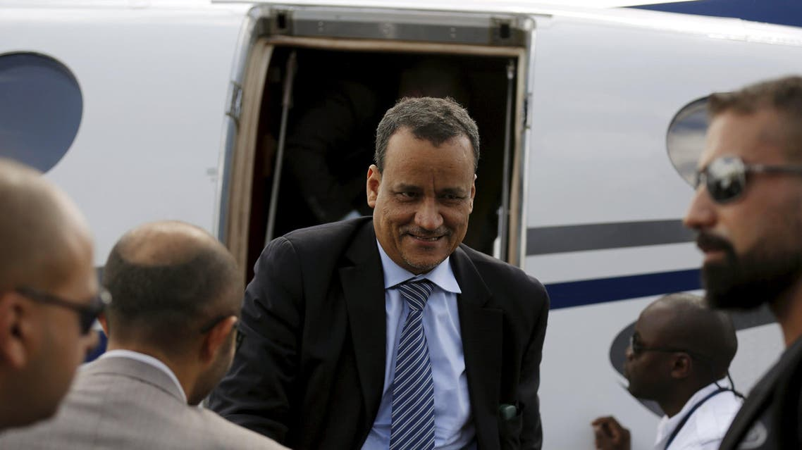 المبعوث الخاص للأمم المتحدة إلى اليمن إسماعيل ولد الشيخ أحمد 3