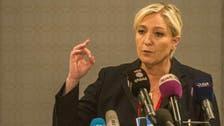 France's Le Pen hails Egypt's battle against 'extremism'