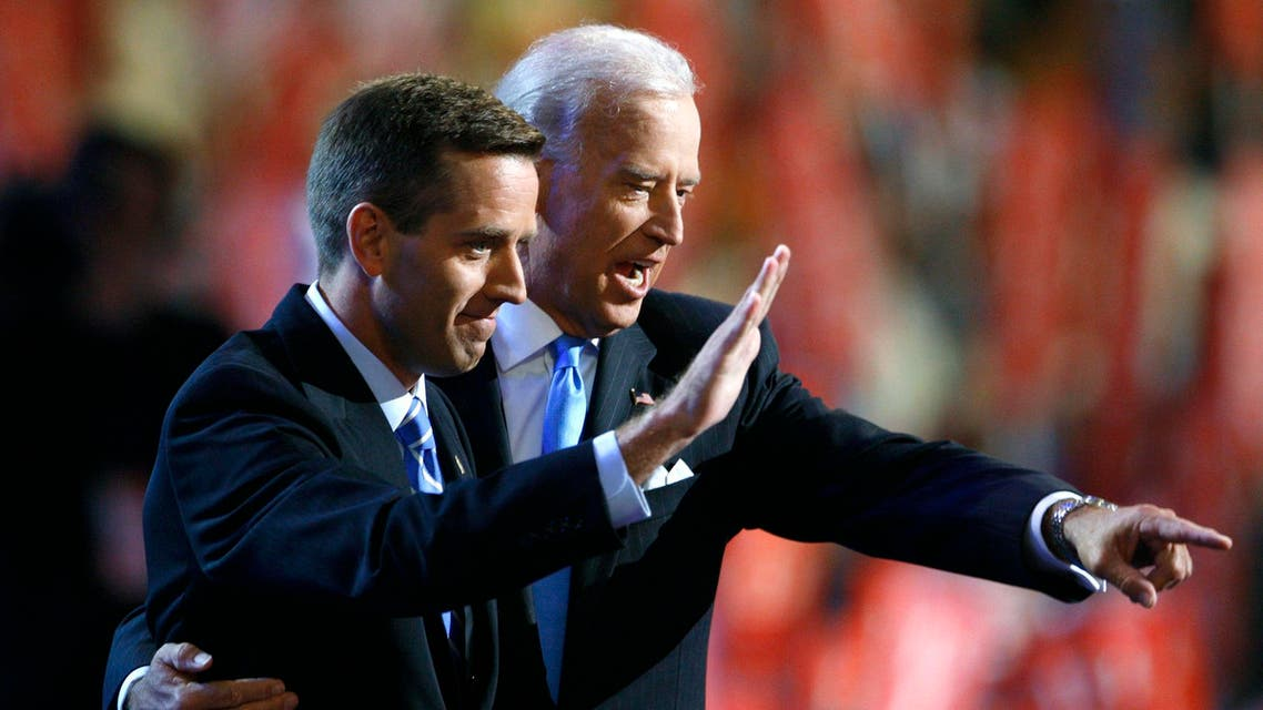 "The vice president, in the statement on behalf of the Biden family, announced ""with broken hearts"" that Beau had died. (File: Reuters)"