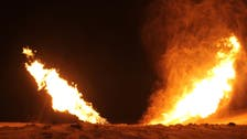 Militants blow up natural gas pipeline in Egypt