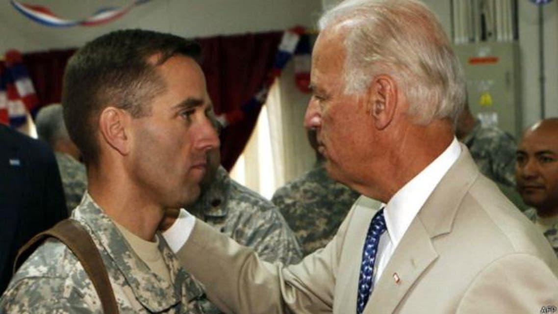 جو بايدن وابنه بو