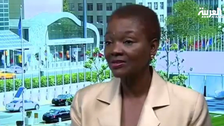 U.N. humanitarian chief Valerie Amos speaks on Yemen, Syria crises