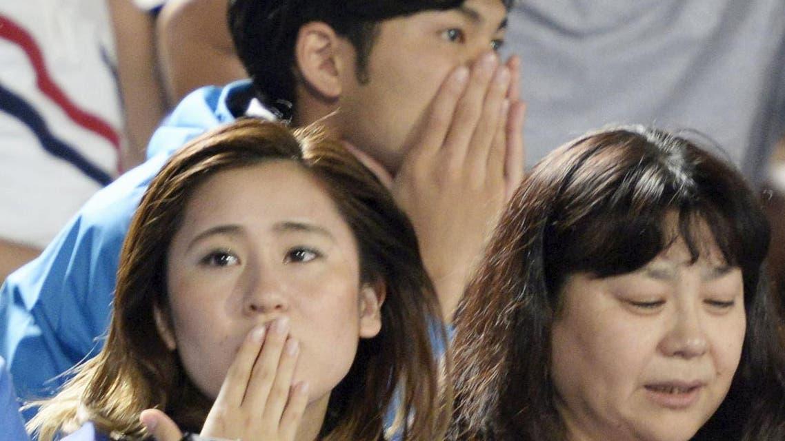 ذعر بسبب زلزال في اليابان