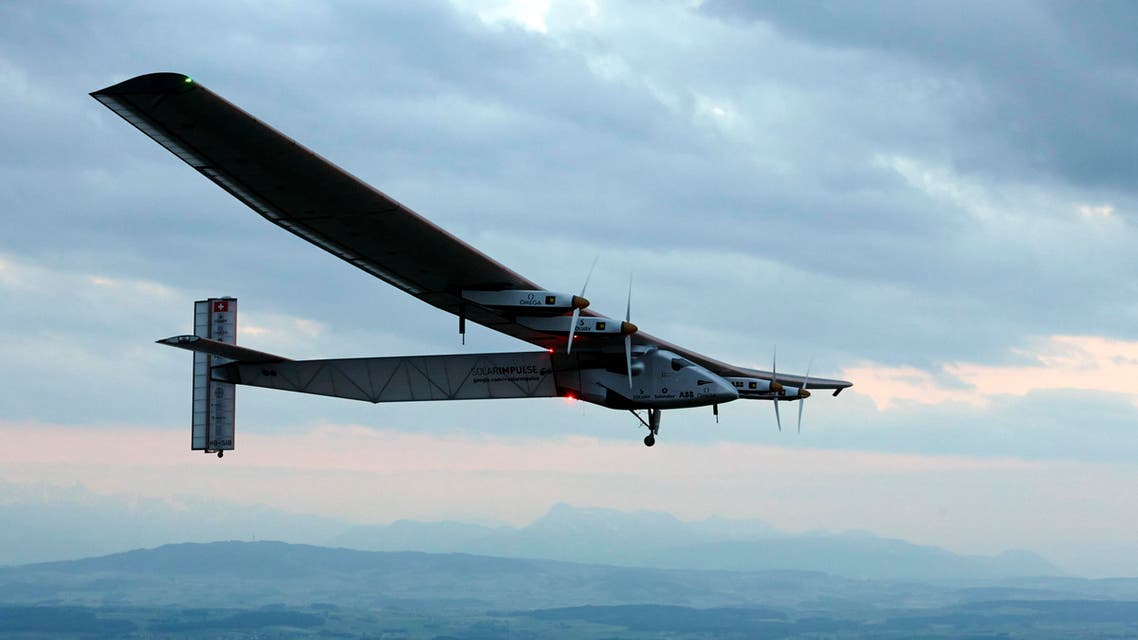 The Solar Impulse 2, a solar powered plane, left Nanjing, China on Sunday to fly over the Pacific Ocean to Hawaii