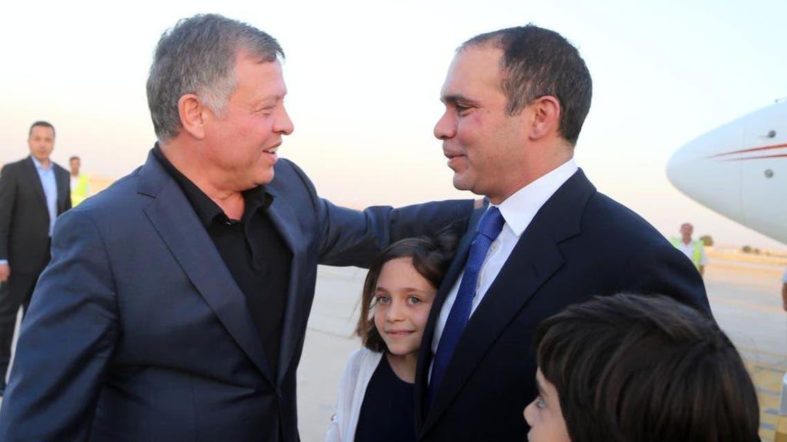 استقبال حافل للأمير علي بن الحسين وملك الأردن في المقدمة