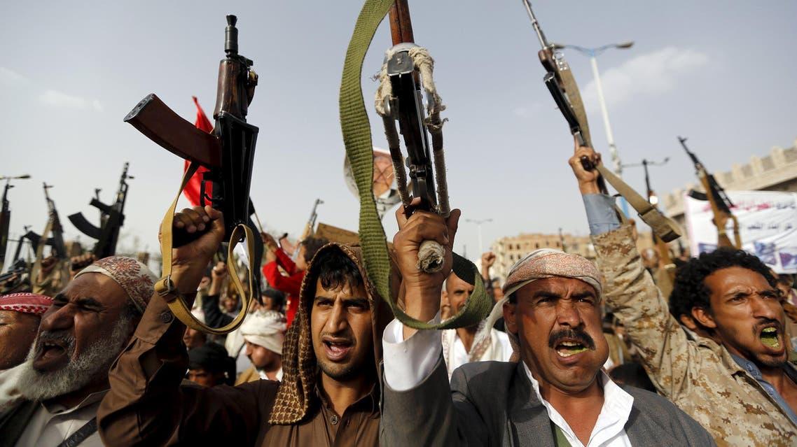 Houthi militants yemen reuters