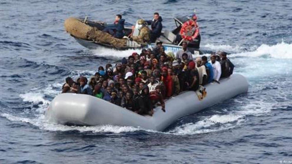 المهاجرين غير الشرعيين