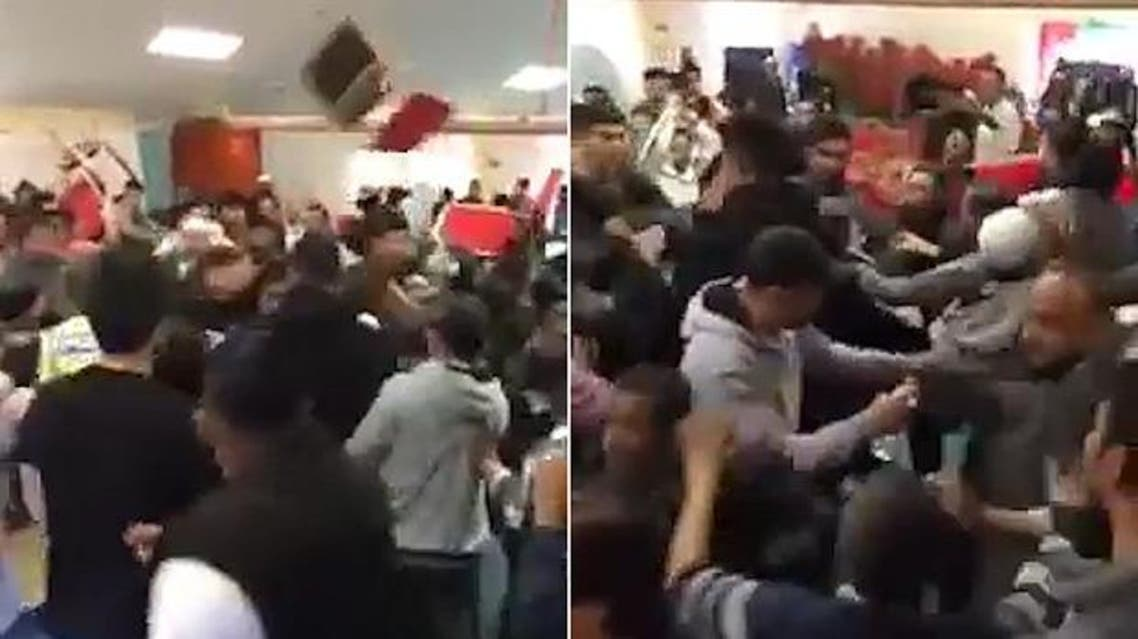 The violent fight involving sticks and chairs at a Bangladeshi Community Center in Leeds
