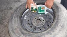 Saudi customs thwart smuggling of 11,000 bullets hidden in car tires