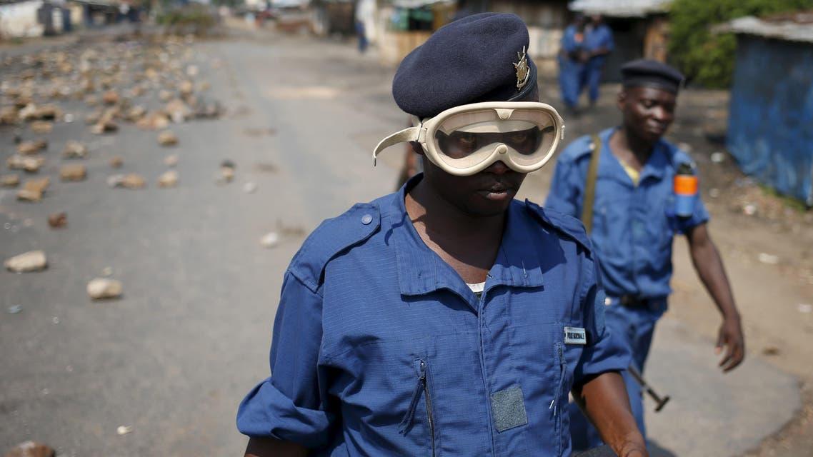 Unrest in Burundi