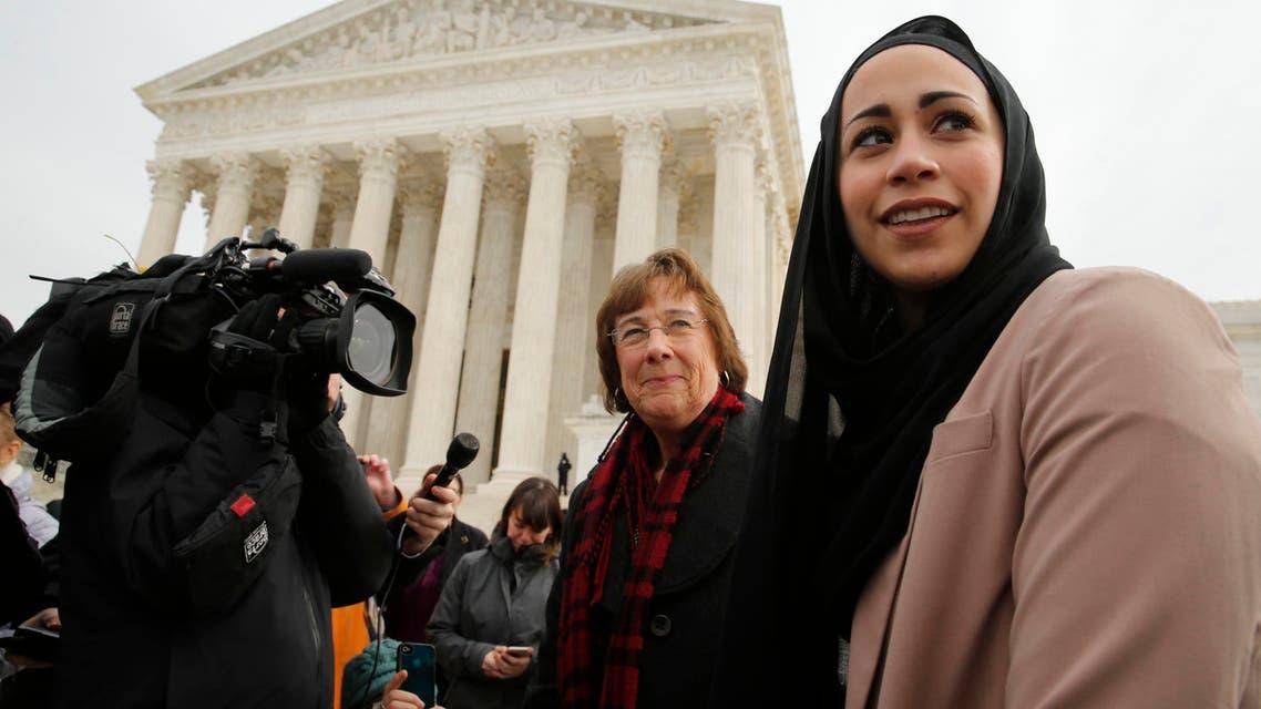 مسلمة أميركية حجاب