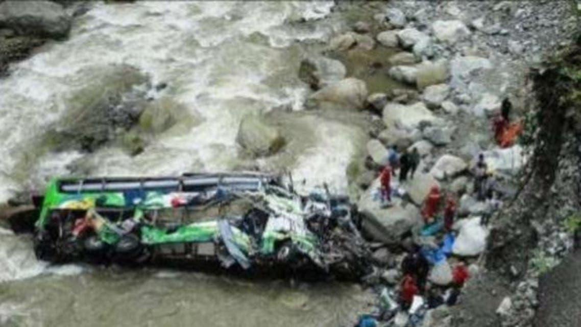 حادث باص سواح عراقيين في إيران