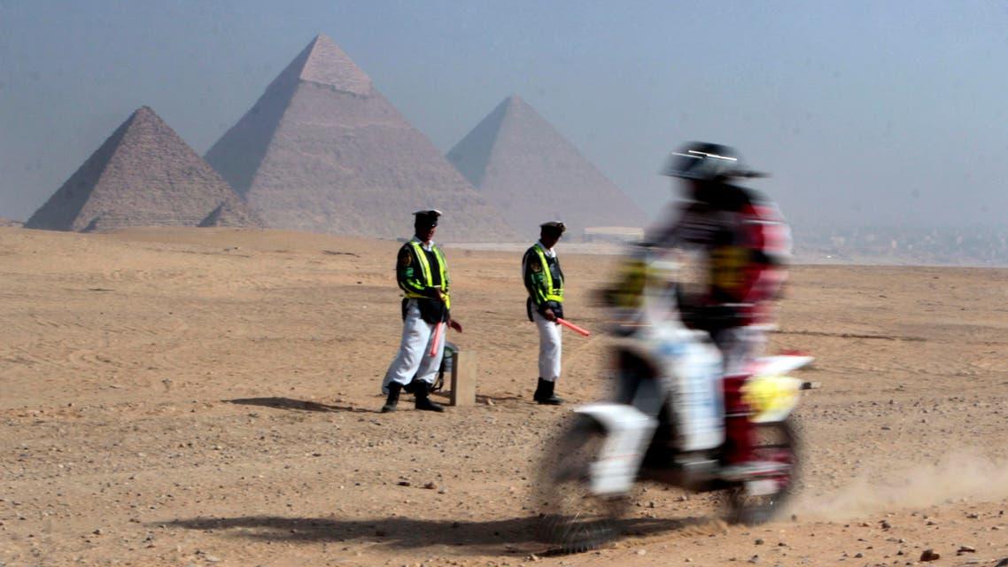 Giza police AP