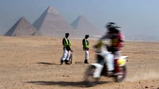 Two Egyptian policemen killed near pyramids