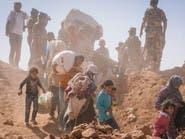مئات السوريين عالقون في الصحراء شرق الأردن