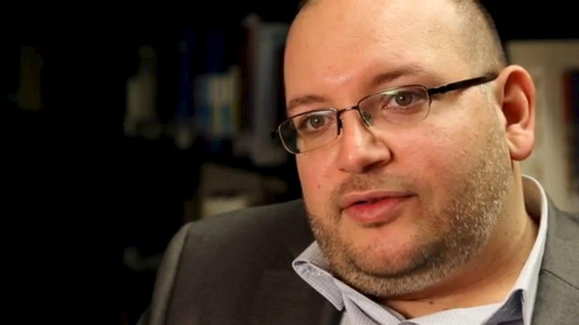 File photo of Washington Post reporter Jason Rezaian speaking in the newspaper's offices in Washington. (Reuters)