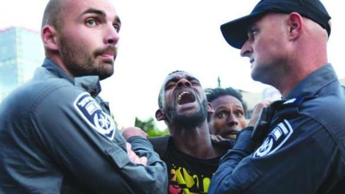 مواجهات بين الشرطة واليهود الإثيوبيين
