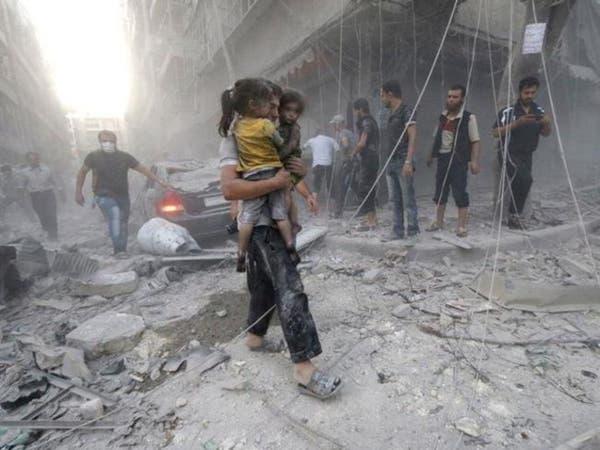 نظام الأسد قصف إدلب بمواد كيمياوية سامة