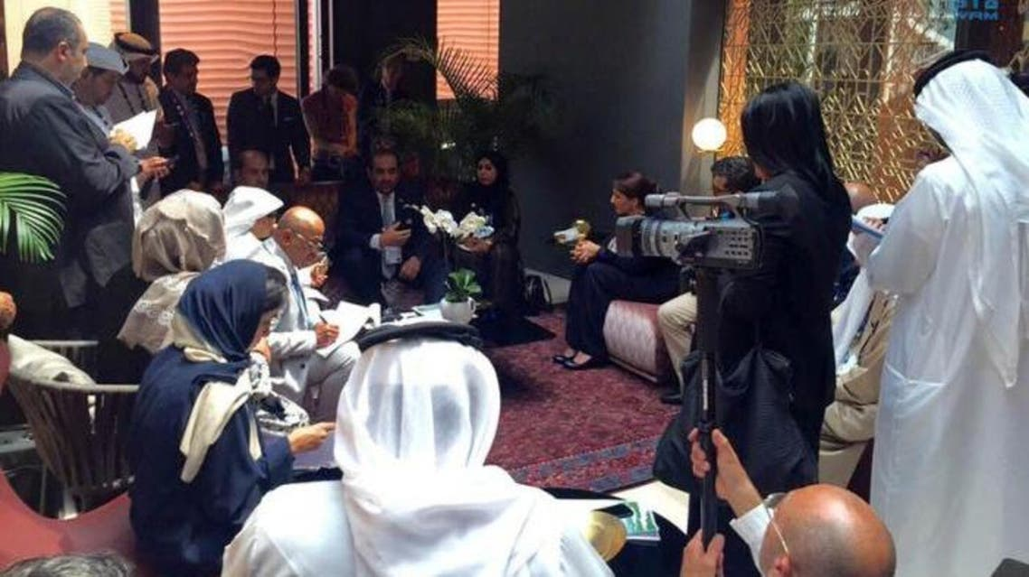 Minister of Environment and Water Rashid Ahmed Bin Fahad unveiled the report at the Milan Expo. (Photo: WAM)