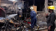 More than 70 dead in Ghana petrol station fire