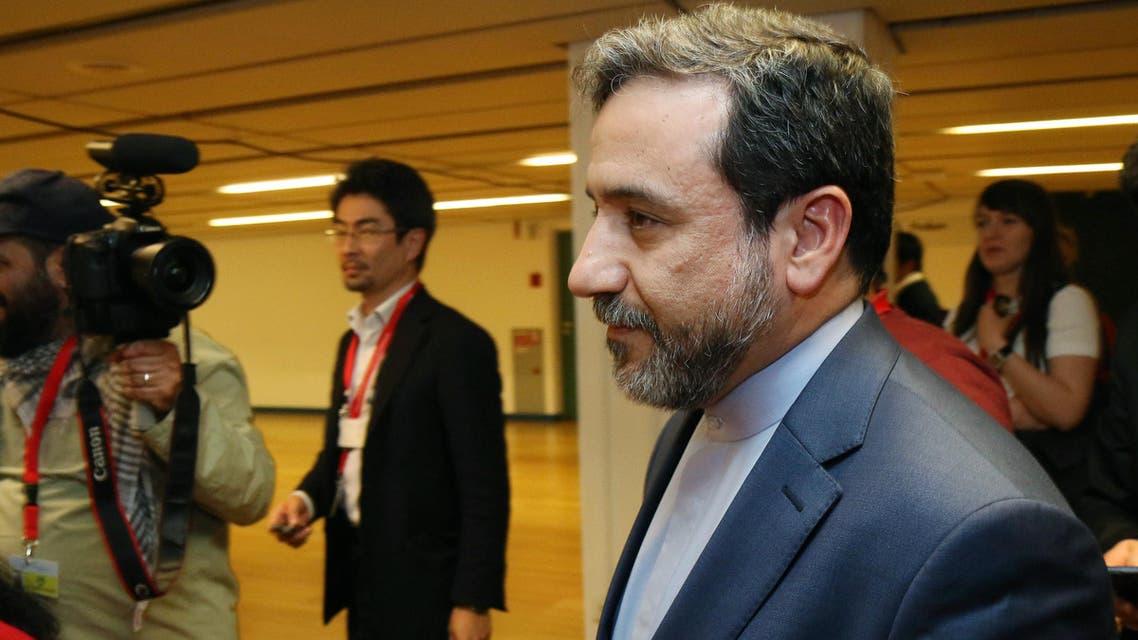 Iran's deputy Foreign Minister Abbas Araghchi AP