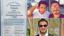 Kansas officials pay tribute to Saudi man who thwarted ISIS attack