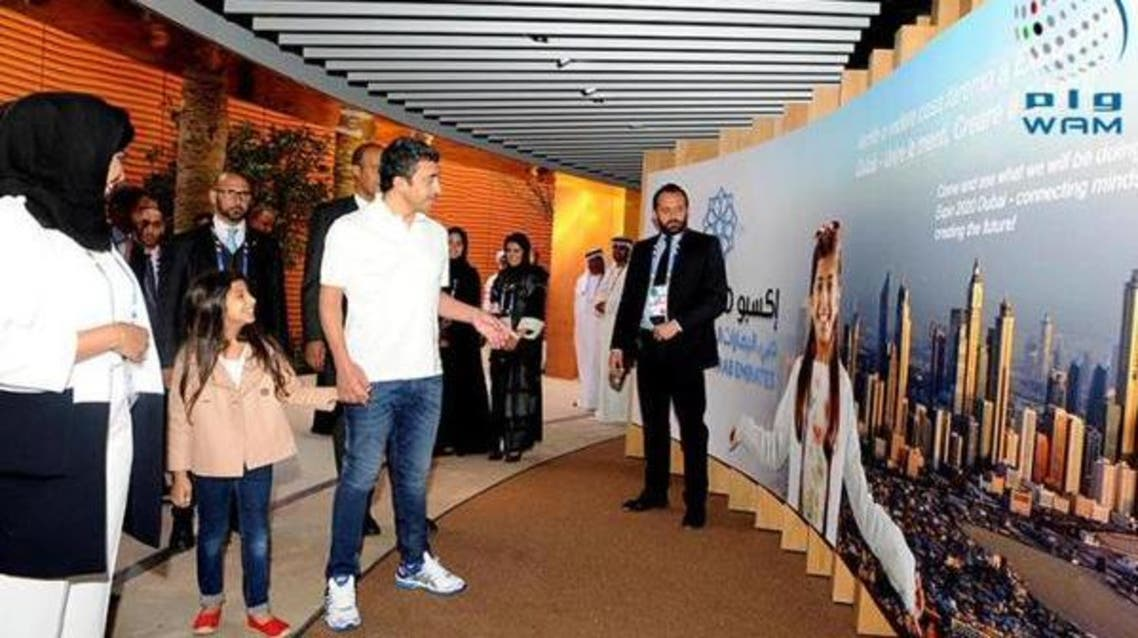 Press visit to UAE Pavilion at Expo Milan 2015