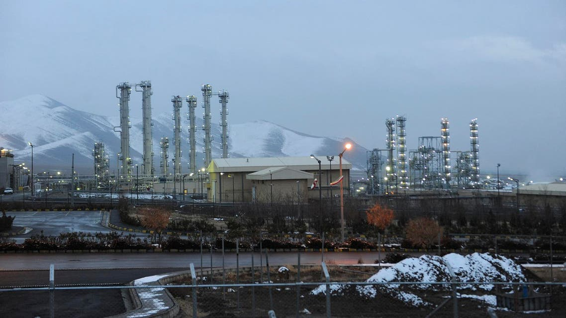 A view of Iran's heavy water nuclear facilities is seen, near the central city of Arak, Saturday, Jan. 15, 2011. AP