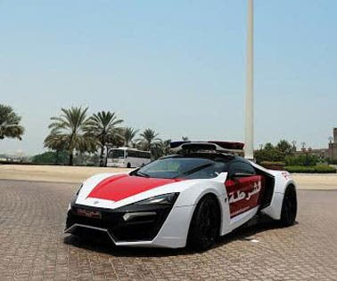 The Abu Dhabi Police force has added a new car to its ranks, unveiling the new Lykan Hypersport patrol car this week. (Khaleejtimes)