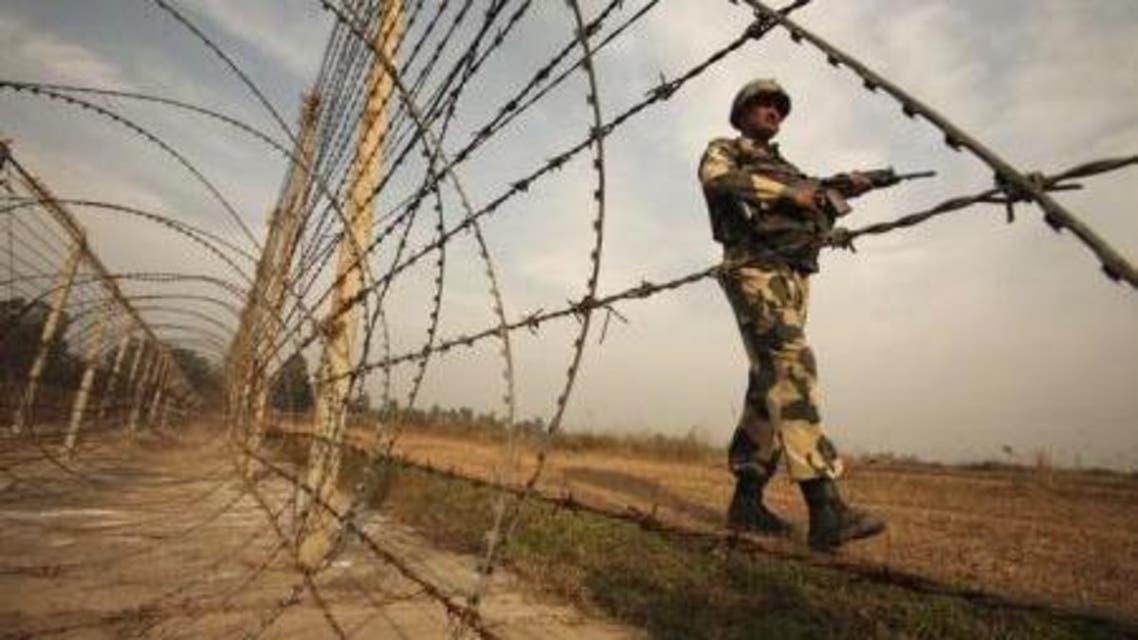 الجيش الهندي على الحدود مع باكستان