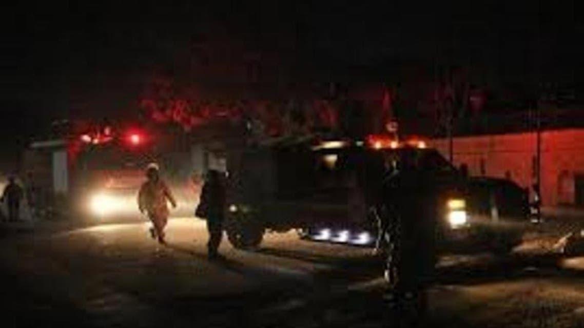 حمله دیشب کابل