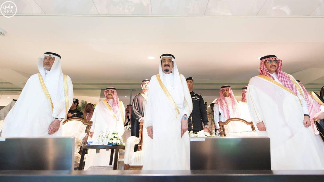 Custodian of the Two Holy Mosques King Salman graced the King's Cup final at King Abdullah Sports City in Jeddah on Friday evening.