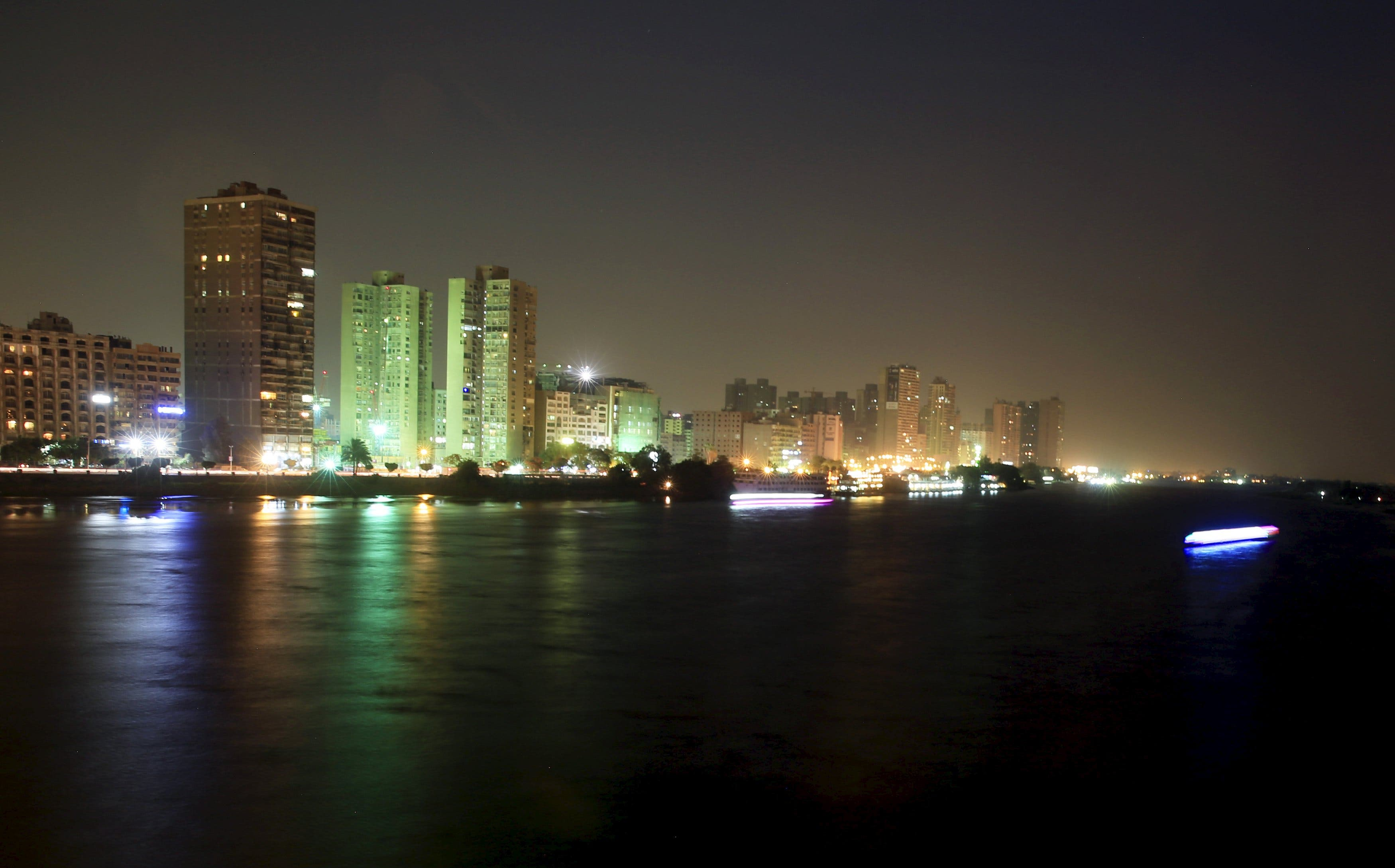 General view show boats on the River Nile in downtown Cairo. (Reuters)